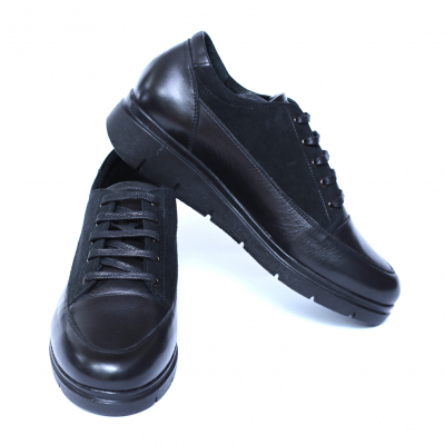 Pantofi dama din piele naturala, MIO, Peter, Negru, 36 EU1