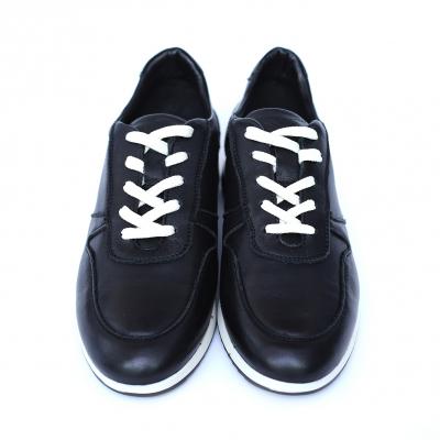 Pantofi dama din piele naturala, Naty, Peter, Negru, 38 EU1