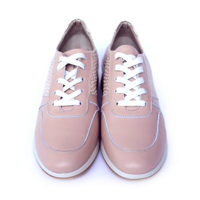 Pantofi dama din piele naturala, Naty, Peter, Roz, 35 EU [0]