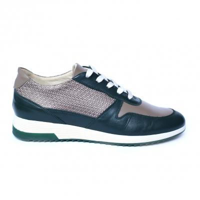 Pantofi dama din piele naturala, Naty, Peter, Verde, 35 EU [0]