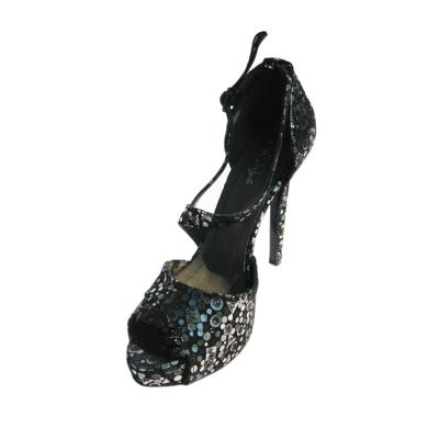 Pantofi dama din piele naturala, Riana, Nist, Negru, 36 EU0