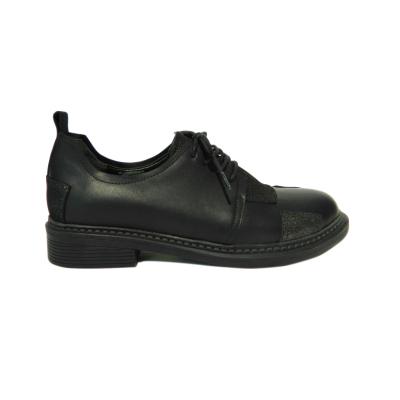 Pantofi dama din piele naturala, Oxford, Gitanos, Negru, 36 EU [2]