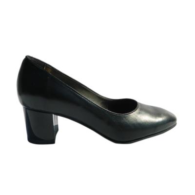 Pantofi dama din piele naturala, Kaily, Nist, Negru, 37 EU2