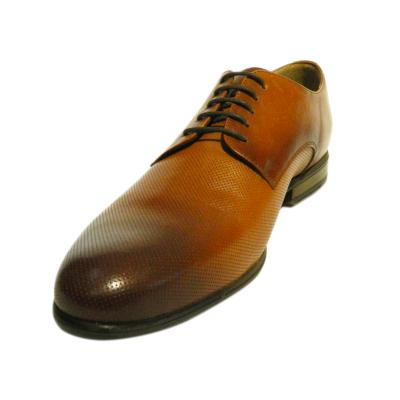Pantofi eleganti pentru barbati Enzo, piele naturala, RIVA MANCINA, Maro, 39 EU2