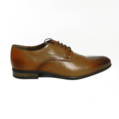 Pantofi eleganti pentru barbati Enzo, piele naturala, RIVA MANCINA, Maro, 39 EU0