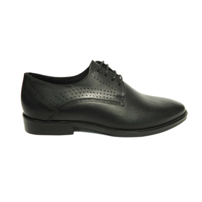 Pantofi eleganti pentru barbati Merlin, piele naturala, Vander, Negru, 39 EU [0]