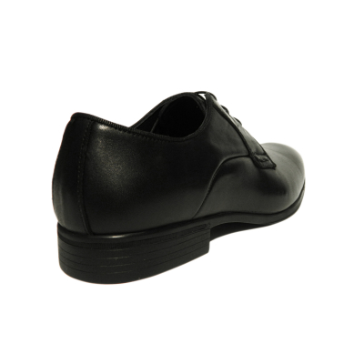 Pantofi eleganti pentru barbati Jerez, piele naturala, Dr. Jells, Negru, 40 EU2