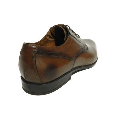 Pantofi eleganti pentru barbati Brandy, piele naturala, RIVA MANCINA, Maro, 39 EU [2]