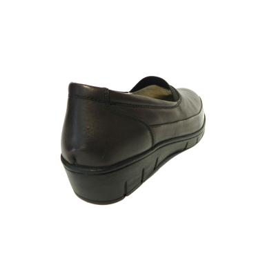 Pantofi dama cu talpa ortopedica Ipek, piele naturala, Gitanos, Bordeaux, 36 EU1