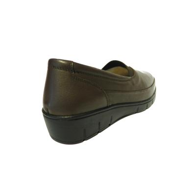 Pantofi dama cu talpa ortopedica Ipek, piele naturala, Gitanos, Maro, 36 EU [1]
