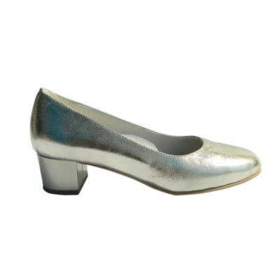 Pantofi dama din piele naturala, Caroll, Nist, Gri, 35 EU [2]