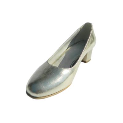 Pantofi dama din piele naturala, Caroll, Nist, Gri, 35 EU [0]