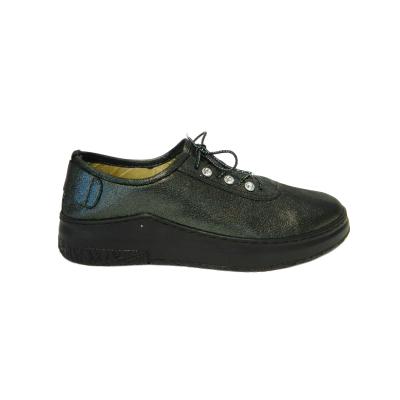 Pantofi dama din piele naturala, Detta, Gitanos, Negru, 36 EU2