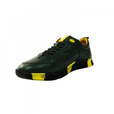 Pantofi sport pentru barbati Erny, piele naturala, Gitanos, Verde, 40 EU [1]