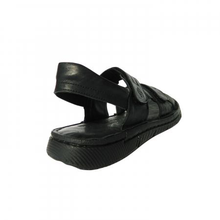 Sandale pentru barbati din piele naturala, Falcon, Gitanos, Negru, 41 EU1