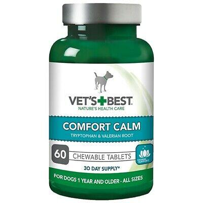 Suplimente pentru reducerea anxietatii cainilor, Vet's Best Comfort Calm, 60 capsule [0]