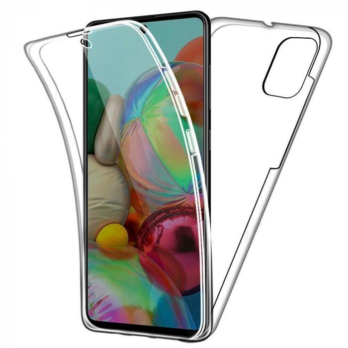 Husa silicon 360 fata+spate Samsung A71 0