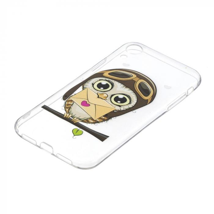 Husa silicon design bufnita Iphone XR 2