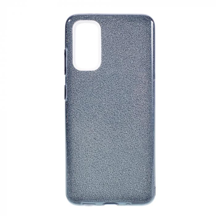 Husa silicon 3 in 1 cu sclipici Samsung A51 - 5 culori 0