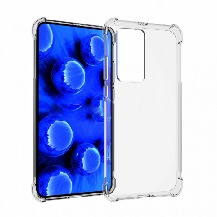 Husa silicon transparent anti shock Huawei P40 Pro 0