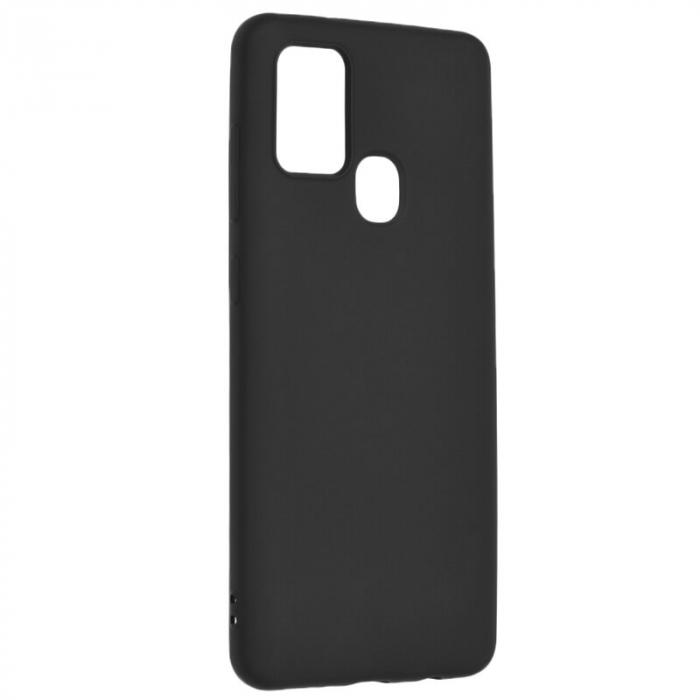 Husa silicon slim mat Samsung A21s - Negru 0