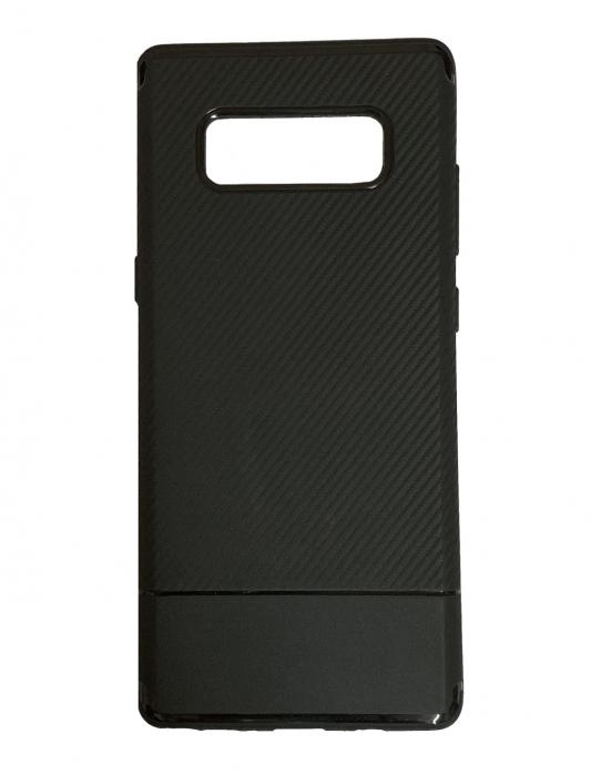Husa silicon carbon 2 Samsung Note 8 - 3 culori 0