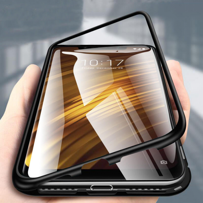Bumper magnetic Iphone 7/8 -Negru [0]