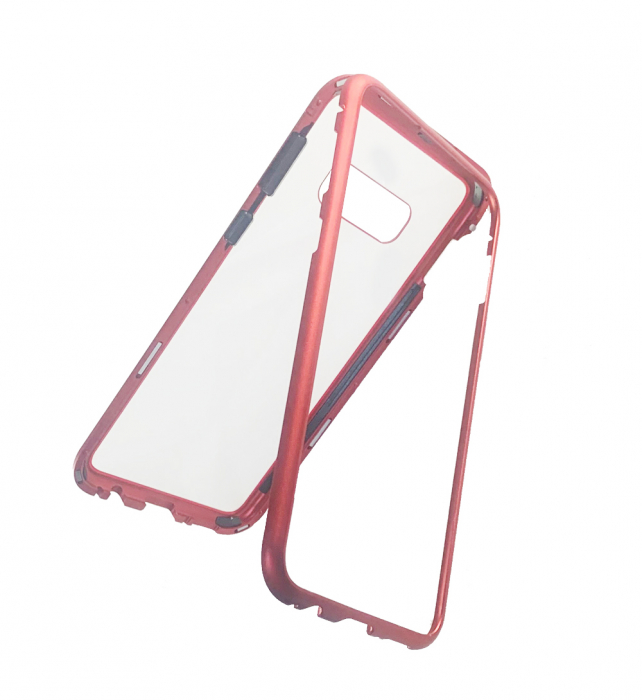 Bumper magnetic Samsung S10  -Rosu [0]