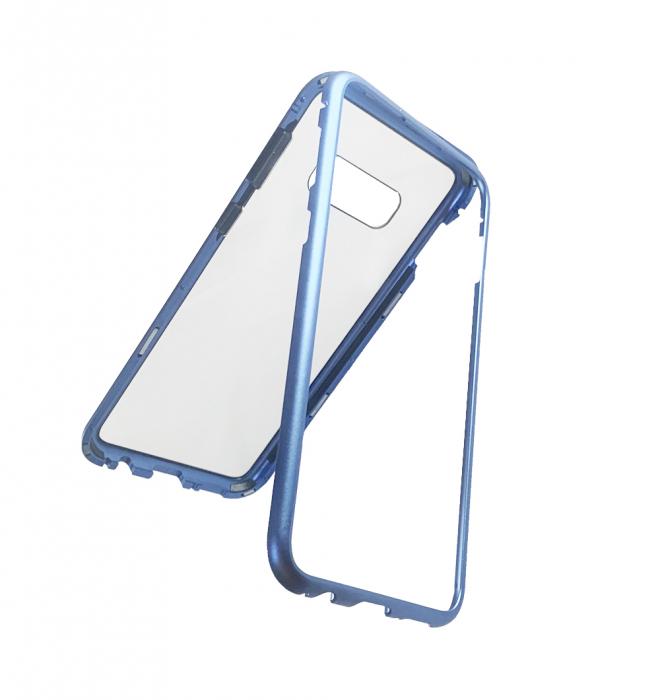 Bumper magnetic Samsung S10E - Albastru 0