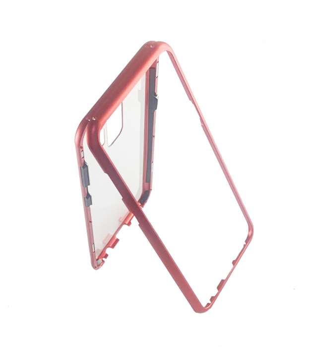 Bumper magnetic Samsung S9 plus, Rosu 1