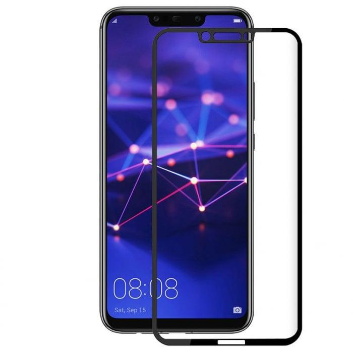 Folie sticla 9D Huawei Mate 20 Lite - negru 0
