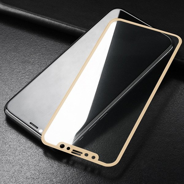 Folie sticla 9D Huawei P20 - Gold 0