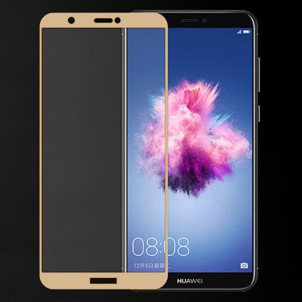 Folie sticla 9D Huawei Psmart (2018) - Gold 0
