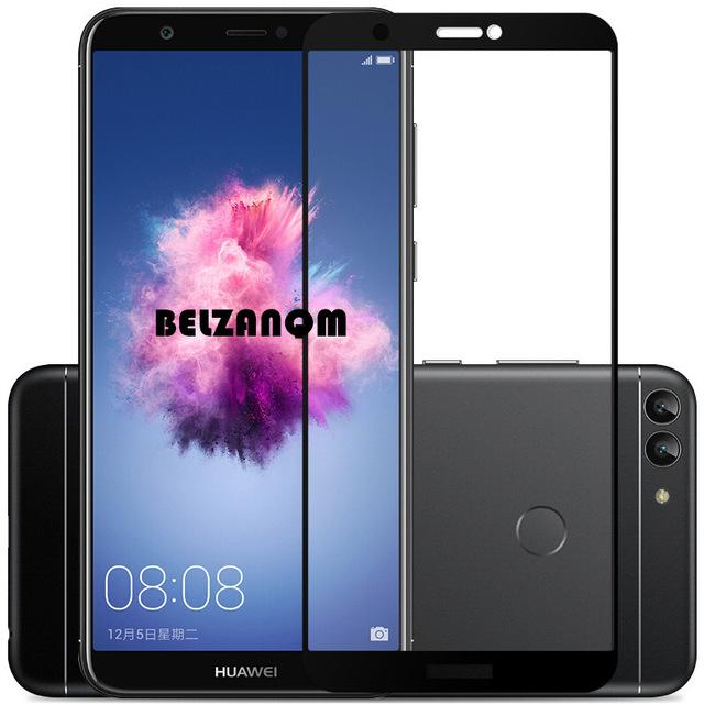 Folie sticla 9D Huawei Psmart (2018) - Negru [0]