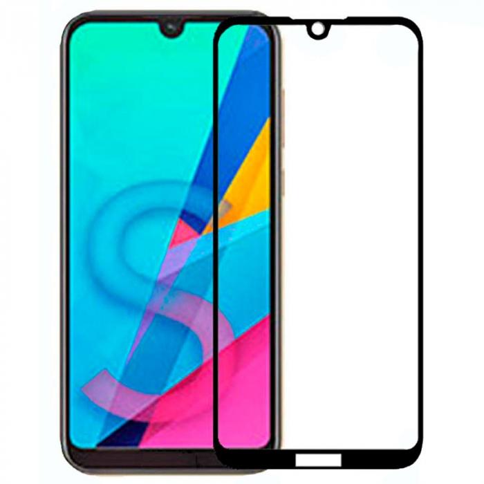 Folie sticla 9D Huawei Y5 (2019) - negru 0