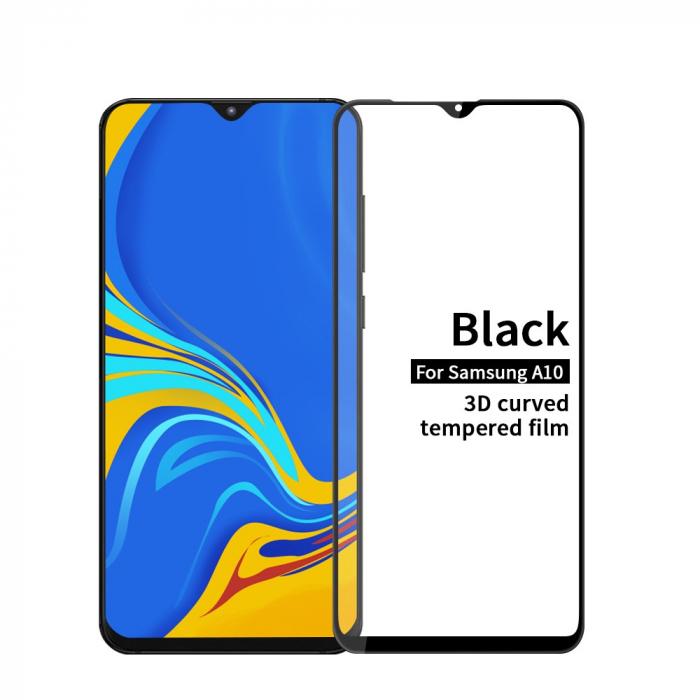 Folie sticla 3D Samsung A10 - negru 0