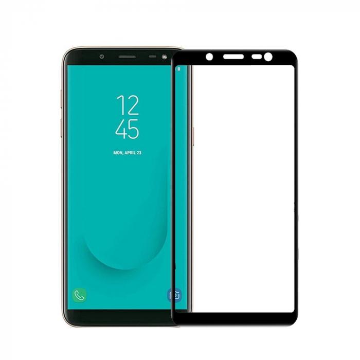 Folie sticla 9D Samsung A6 (2018) - Negru 0