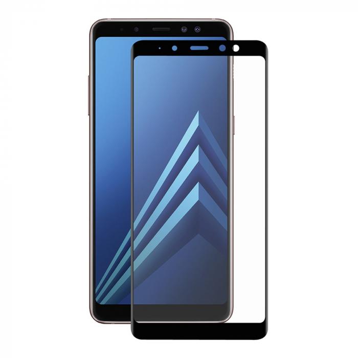 Folie sticla 9D Samsung A6 plus (2018) - Negru [0]