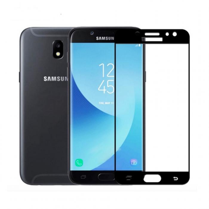 Folie sticla 9D Samsung J7 (2017) - Negru [0]