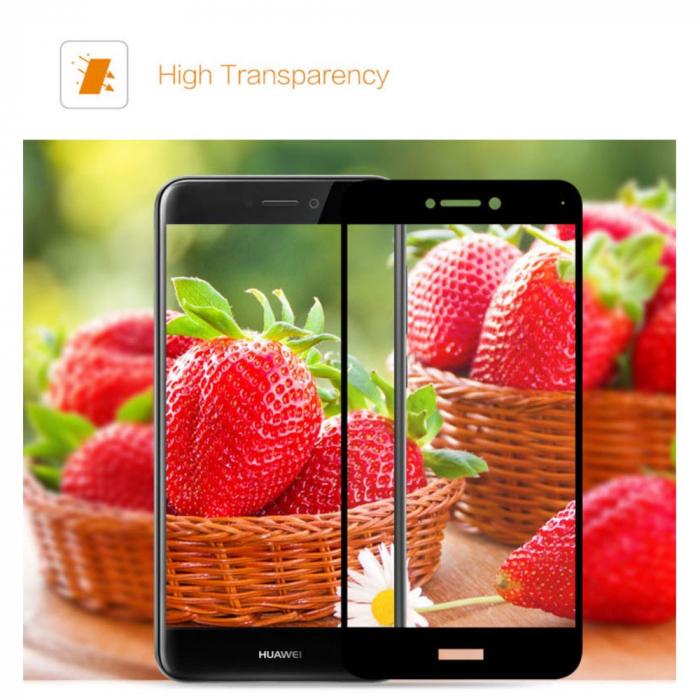 Folie sticla 3D Huawei P8/P9 Lite (2017) - 2 culori 2