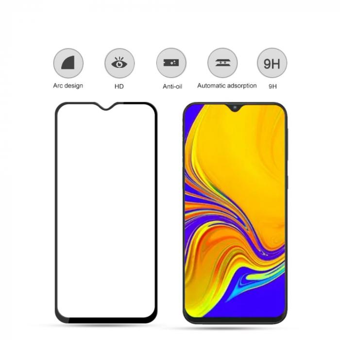 Folie sticla 9D Samsung A50 - negru 1