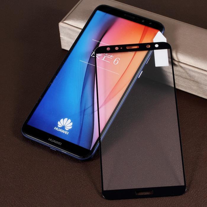 Folie sticla 5D Huawei Mate 10 Lite - negru 1