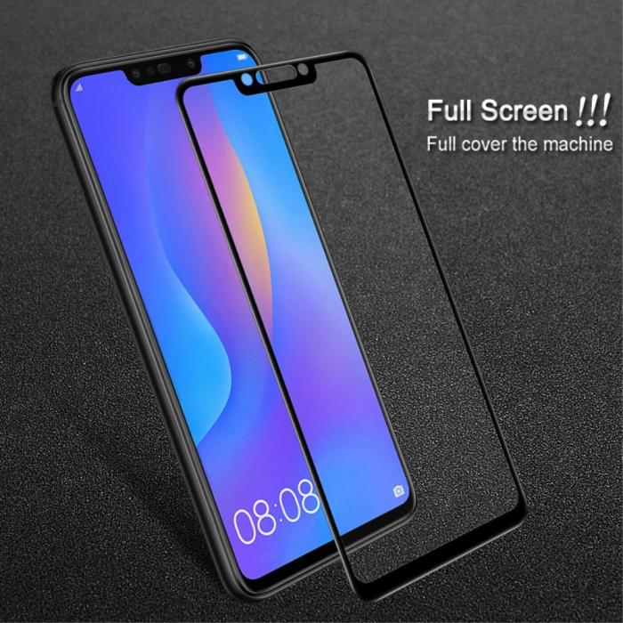 Folie sticla 5D Huawei Mate 20 Lite - negru 3