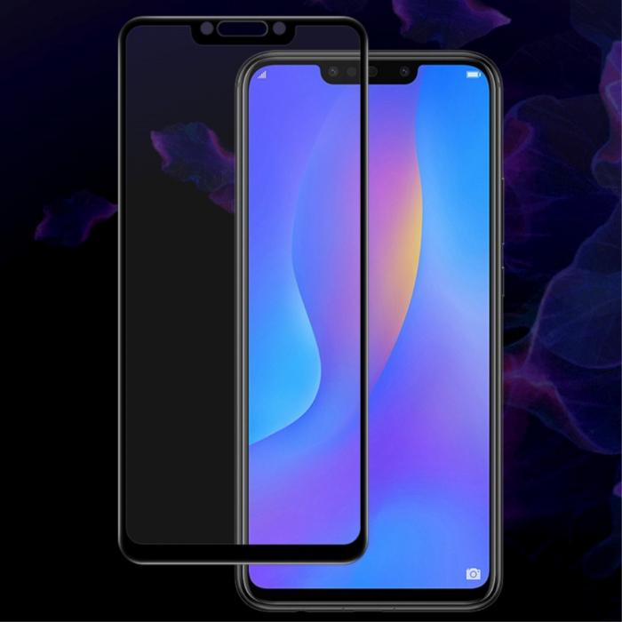 Folie sticla 5D Huawei Mate 20 Lite - negru 0