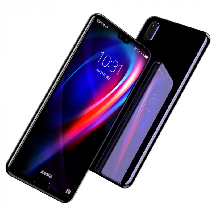 Folie sticla 5D Huawei P20 Pro - negru 2