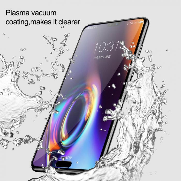 Folie sticla 5D Huawei P20 Pro - negru 1