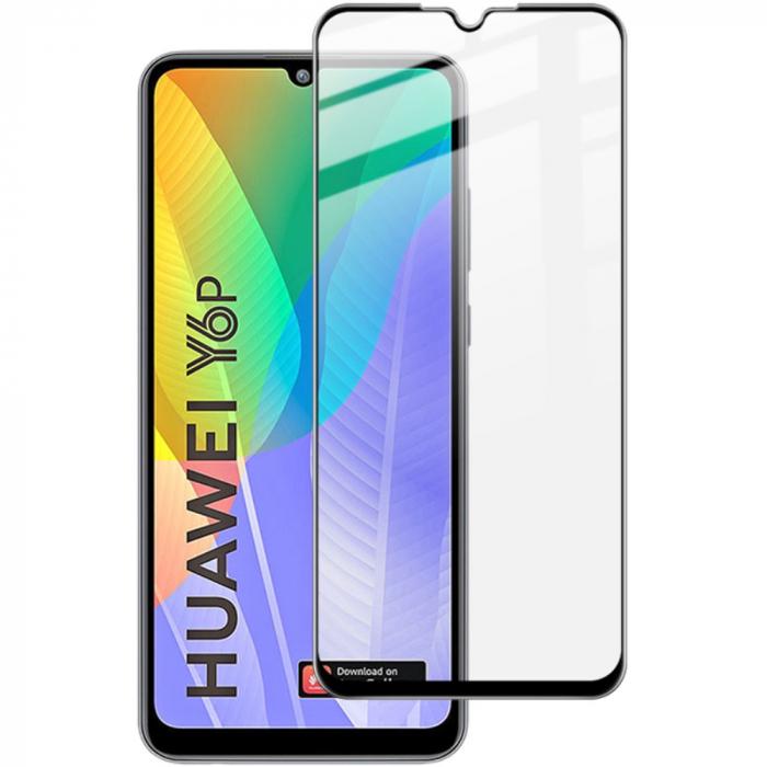 Folie sticla 5D Huawei Y6p - negru 0