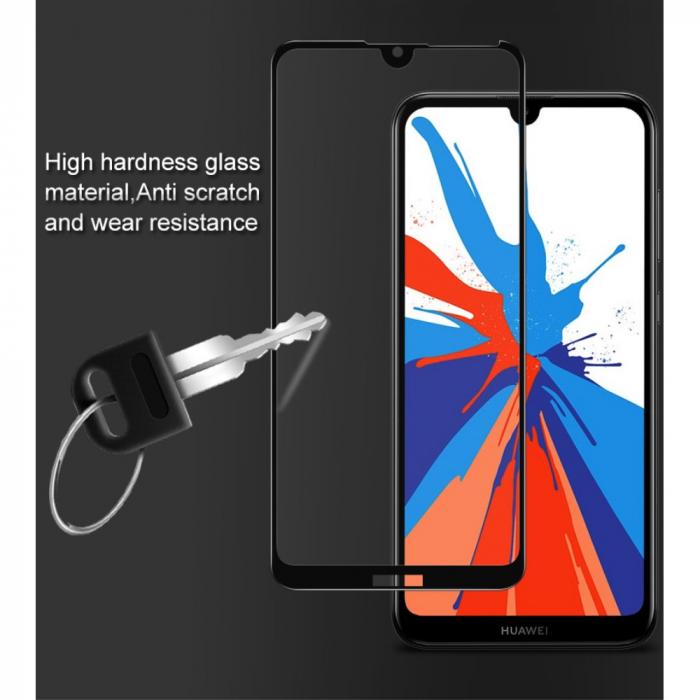 Folie sticla 5D Huawei Y7 (2019) - negru 1