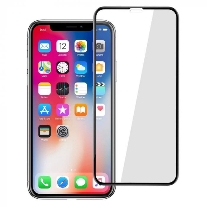 Folie sticla 5D Iphone 11 Pro Max - negru 0