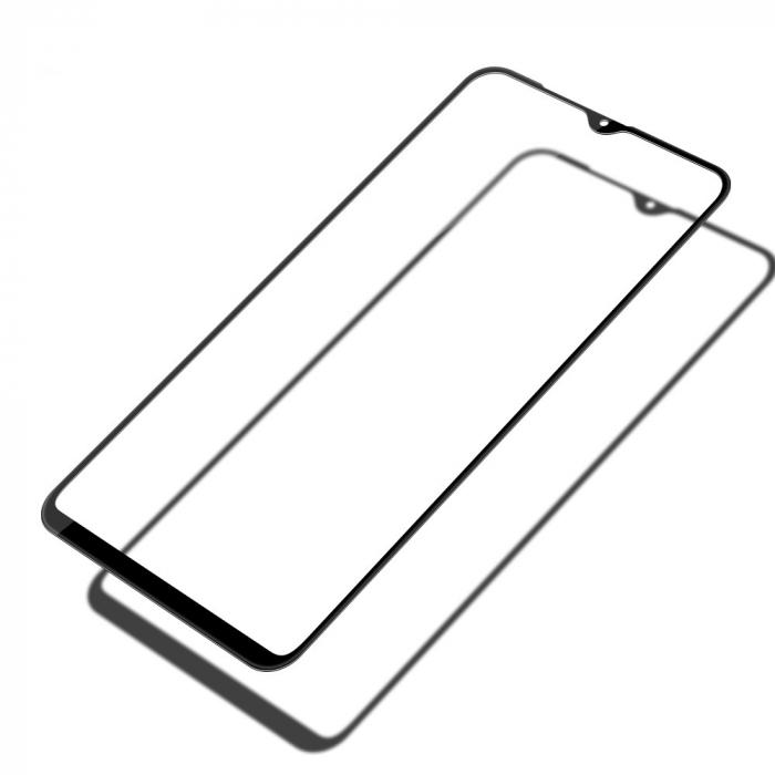 Folie sticla 5D Samsung A10 - negru 0